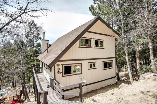 887 Rhine Road, Lake Arrowhead, CA 92352 (#301540977) :: Coldwell Banker Residential Brokerage