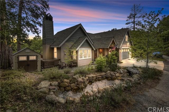 27460 Oakwood Drive, Lake Arrowhead, CA 92352 (#301541077) :: Coldwell Banker Residential Brokerage
