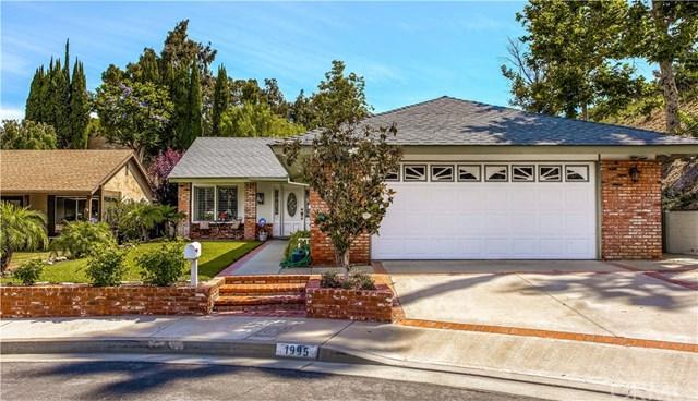 1995 N Sunwood Lane, Anaheim Hills, CA 92807 (#301556527) :: Coldwell Banker Residential Brokerage
