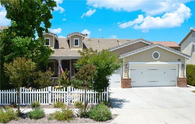 33589 Eugenia Lane, Murrieta, CA 92563 (#301559321) :: Coldwell Banker Residential Brokerage