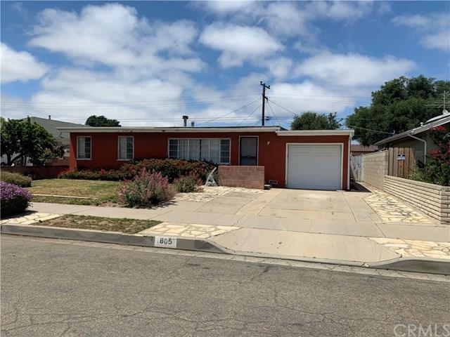 805 E Las Flores Way, Santa Maria, CA 93454 (#301560539) :: Coldwell Banker Residential Brokerage