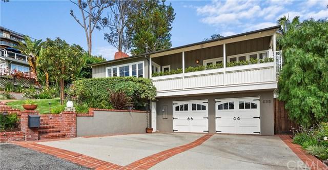 655 Bluebird Canyon Drive, Laguna Beach, CA 92651 (#301566341) :: Coldwell Banker Residential Brokerage