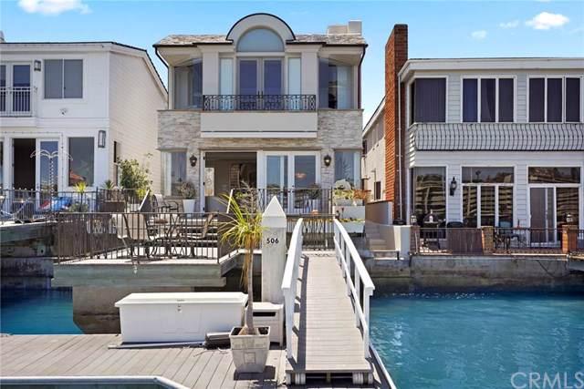 506 Via Lido Nord, Newport Beach, CA 92663 (#301616551) :: Coldwell Banker Residential Brokerage
