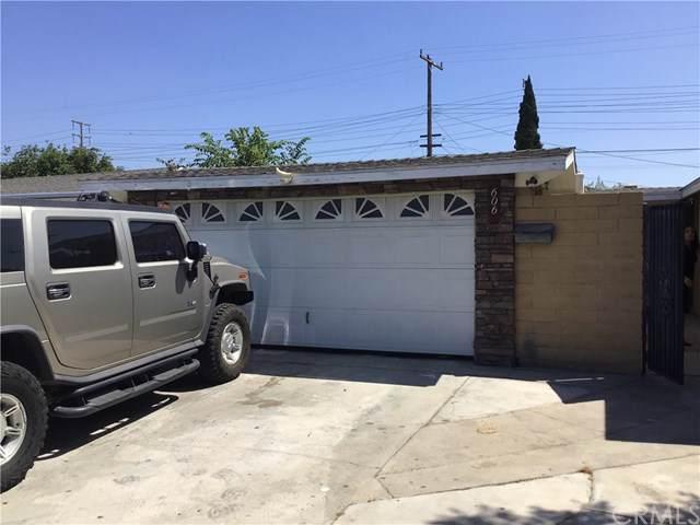 606 N Rose Street, Anaheim, CA 92805 (#301631736) :: Compass
