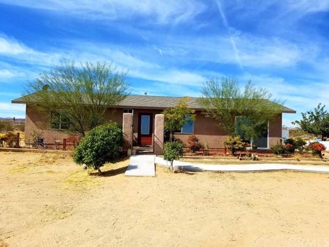 674 Deer Trail, Yucca Valley, CA 92284 (#301659798) :: Dannecker & Associates