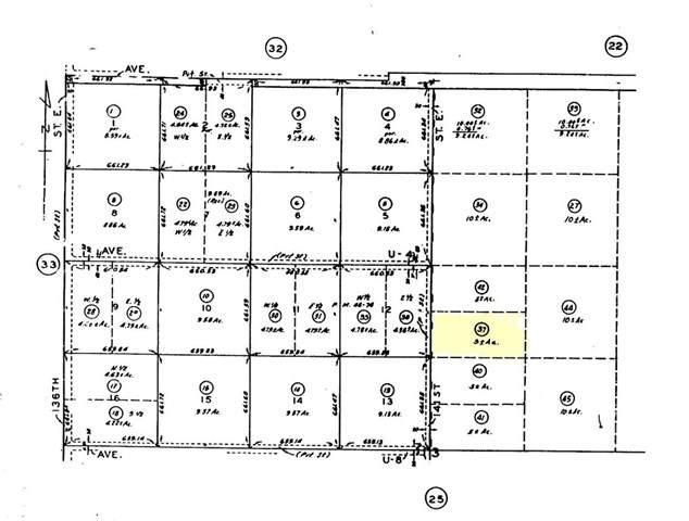 0 Vac/141 Ste Drt /Vic Avenue U6, Pearblossom, CA 93553 (#301878752) :: Keller Williams - Triolo Realty Group