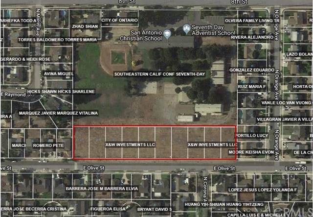 0 E Olive, Ontario, CA 91764 (#301881572) :: Whissel Realty