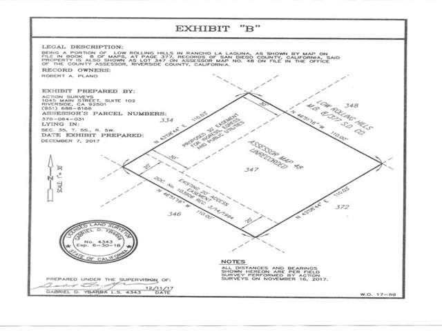0 Gunnerson St. - Lot 347, Lake Elsinore, CA 92530 (#301900041) :: Compass