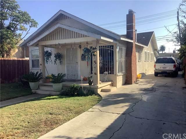 130 E 107th Street, Los Angeles, CA 90003 (#302295672) :: Cane Real Estate
