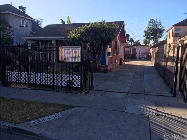 434 W 79th Street, Los Angeles, CA 90003 (#302296239) :: Whissel Realty