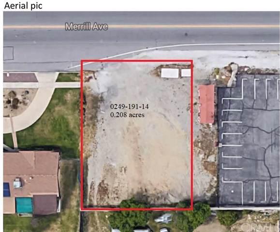 0 Merrill, Fontana, CA 92335 (#302297816) :: Whissel Realty