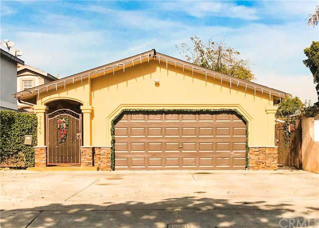 3649 W 109th Street Back House, Inglewood, CA 90303 (#302322775) :: The Yarbrough Group