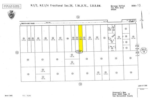 0 Twentynine Palms, Joshua Tree, CA 92252 (#302433358) :: COMPASS