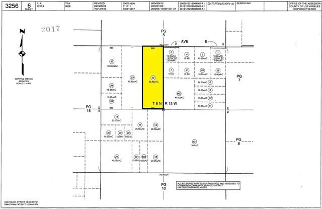 0 Vac/Ave B/Vic 205 Stw, Lancaster, CA 93536 (#302434167) :: COMPASS