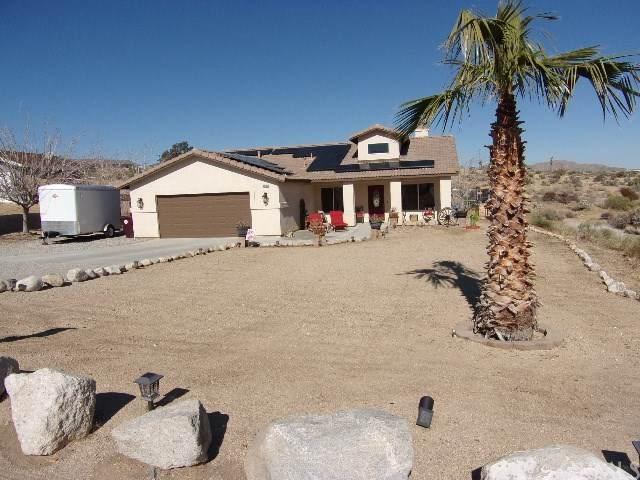 61776 Pueblo, Joshua Tree, CA 92252 (#302437698) :: COMPASS