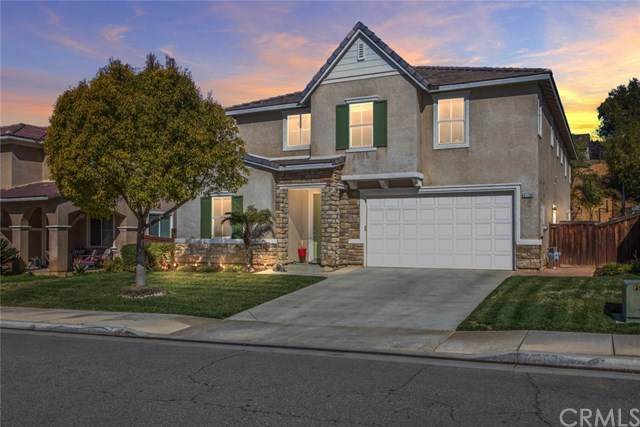 37738 High Ridge Drive, Beaumont, CA 92223 (#302443562) :: Whissel Realty