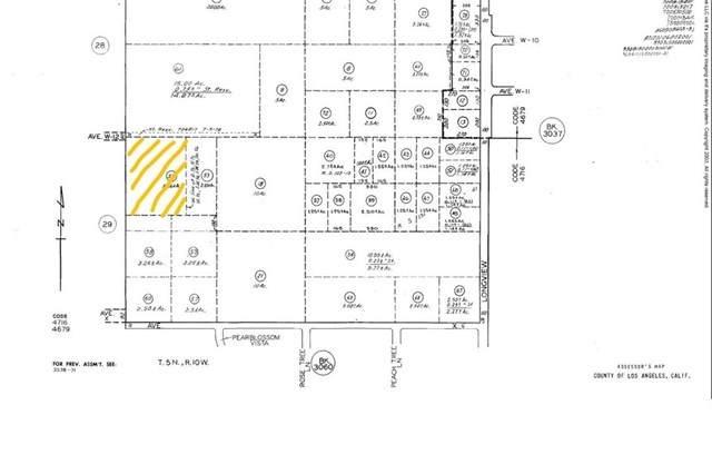 0 E Vac/Vic Avenue W12/127 Ste, Pearblossom, CA 93553 (#302474167) :: Keller Williams - Triolo Realty Group