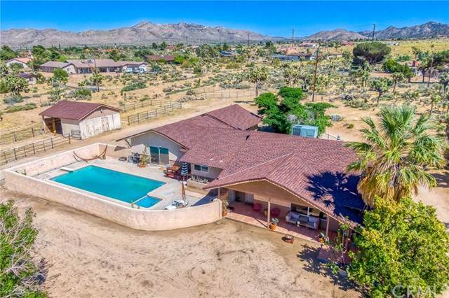 58245 Lisbon Drive, Yucca Valley, CA 92284 (#302543691) :: Keller Williams - Triolo Realty Group