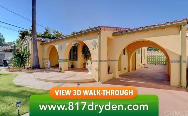817 W Dryden Street, Glendale, CA 91202 (#302578592) :: Whissel Realty