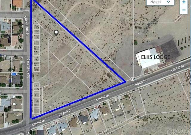 0 Lillyhill, Needles, CA 92363 (#302580346) :: Whissel Realty