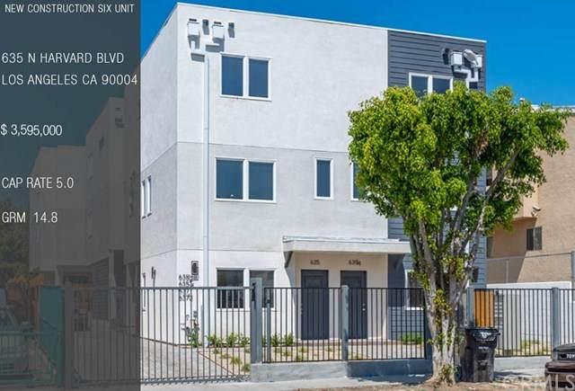 635 N Harvard Boulevard, Hollywood, CA 90004 (#302584842) :: Whissel Realty