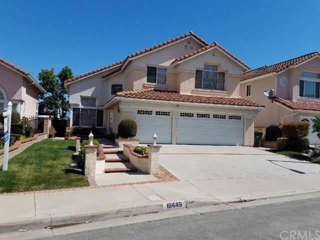 18449 Buttonwood Lane, Rowland Heights, CA 91748 (#302605055) :: Whissel Realty