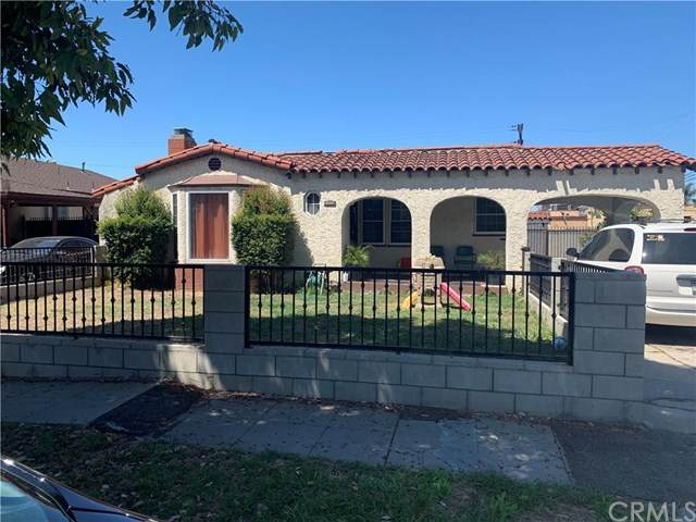 10007 S Harvard Boulevard, Los Angeles, CA 90047 (#302612833) :: Whissel Realty