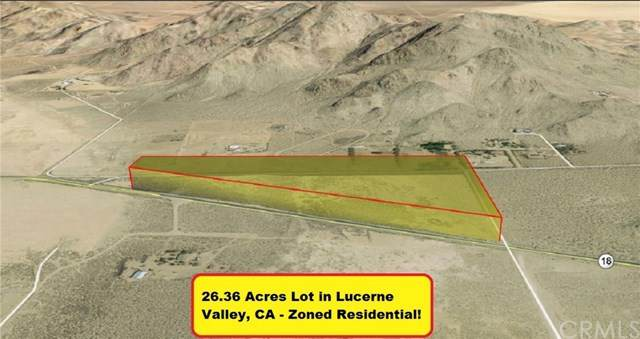0 Hwy 18, Lucerne Valley, CA 92356 (#302622056) :: Whissel Realty