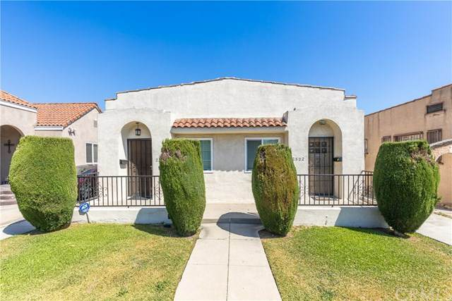 2500 Lucerne Avenue, Los Angeles, CA 90016 (#302624650) :: Whissel Realty
