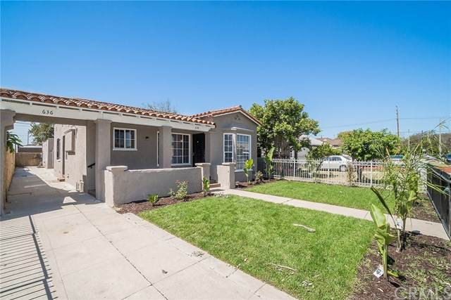 636 W 107th Street, Los Angeles, CA 90044 (#302627650) :: Whissel Realty