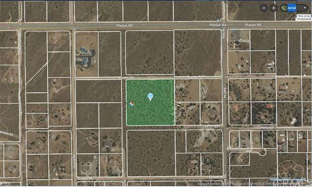 0 Buttonwood, Phelan, CA 92371 (#302629232) :: Whissel Realty