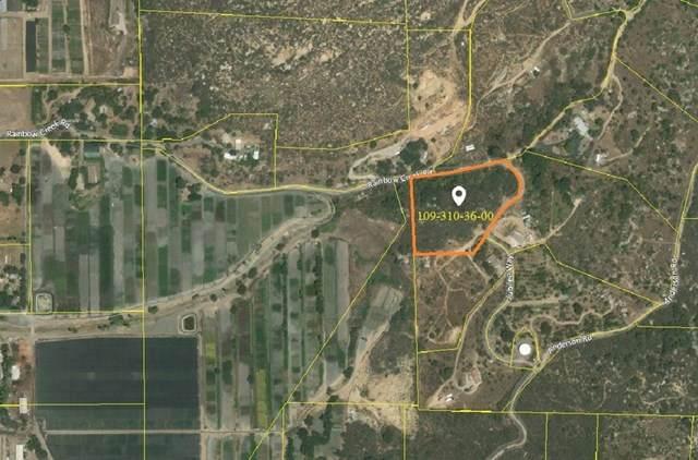 0 Rainbow Creek Rd 4.5 Ac, Fallbrook, CA 92028 (#302678320) :: San Diego Area Homes for Sale
