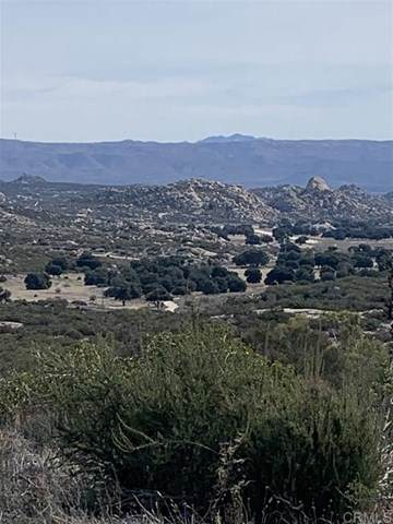 Jewel Valley Way Parcel 4 Tract 10472, Boulevard, CA 91905 (#302678524) :: Yarbrough Group
