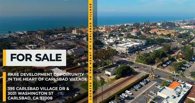 395 Carlsbad Village Dr, Carlsbad, CA 92008 (#302678530) :: Tony J. Molina Real Estate