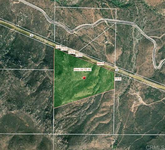 0 Highway 94 Parcel#12, Dulzura, CA 91917 (#302678802) :: Yarbrough Group