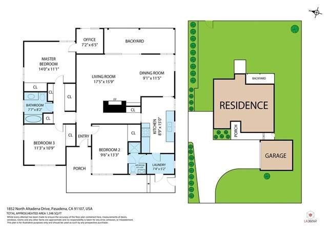 1852 N Altadena Drive, Pasadena, CA 91107 (#302870738) :: San Diego Area Homes for Sale