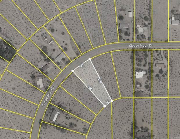 0 Cloudy Moon Drive Lot 38, Borrego Springs, CA 92004 (#302913281) :: Solis Team Real Estate