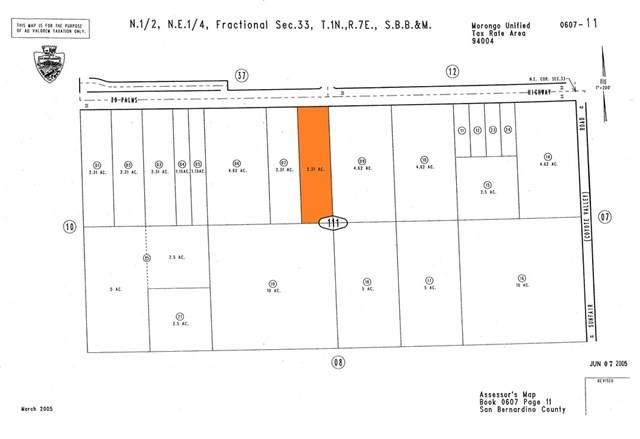 0 Twentynine Palms, Joshua Tree, CA 92252 (#302945740) :: Keller Williams - Triolo Realty Group