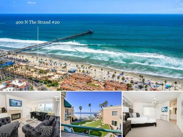 400 N The Strand #20, Oceanside, CA 92054 (#302975149) :: Solis Team Real Estate
