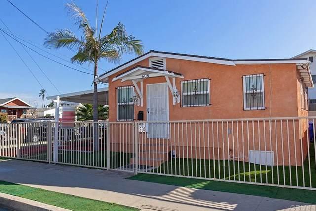 605 Dewey St, San Diego, CA 92113 (#303002195) :: Team Sage