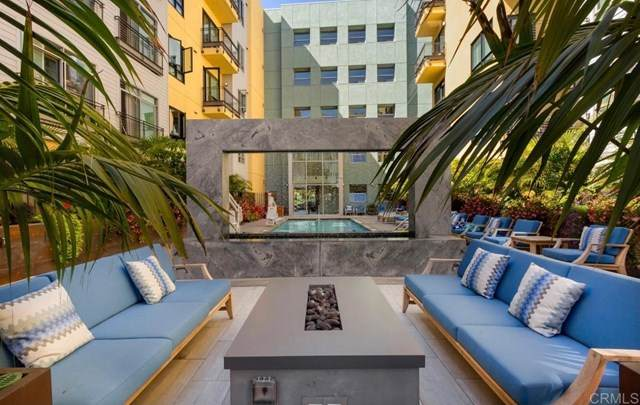 889 Date Street #230, San Diego, CA 92101 (#303005657) :: The Legacy Real Estate Team