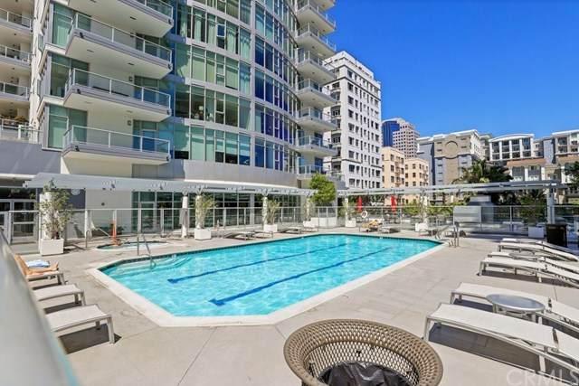 411 W Seaside Way #2104, Long Beach, CA 90802 (#PW21088800) :: Compass