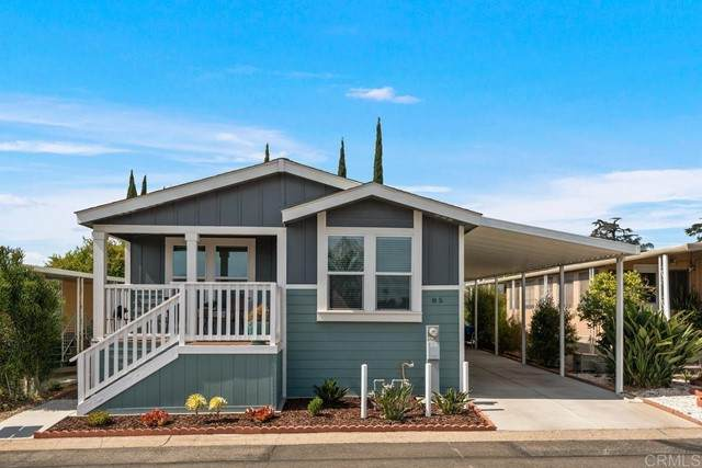1120 E Mission #85, Fallbrook, CA 92028 (#NDP2106382) :: The Marelly Group | Sentry Residential