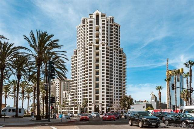 700 W Harbor Dr #1801, San Diego, CA 92101 (#NDP2106951) :: Zember Realty Group