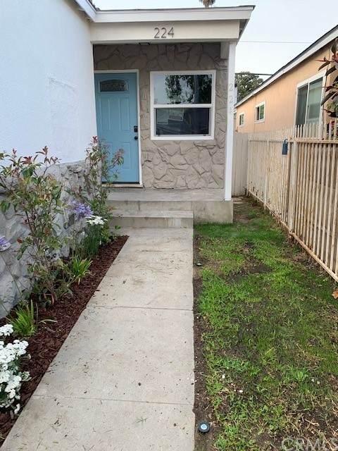 224 E Platt Street, Long Beach, CA 90805 (#DW21130913) :: Dannecker & Associates