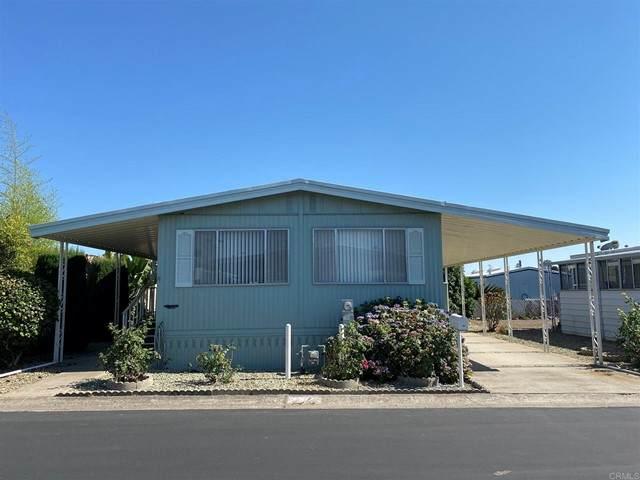 1010 E Bobier Dr #92, Vista, CA 92084 (#NDP2107190) :: Solis Team Real Estate