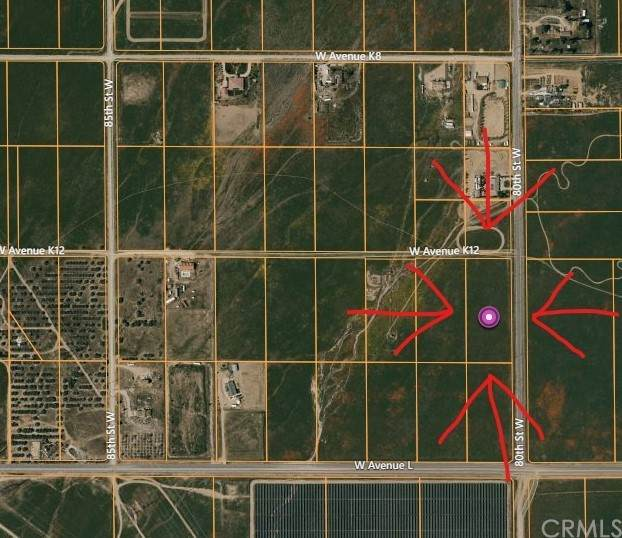 80 Vac/Cor 80 Stw/Ave K12, Lancaster, CA 93536 (#CV21151662) :: Carrie Filla & Associates
