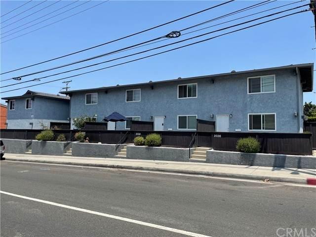 25120 Western Avenue, Los Angeles, CA 90710 (#SB21155456) :: Compass