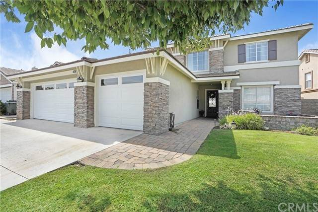 15287 River Rock Drive, Fontana, CA 92336 (#CV21157186) :: SD Luxe Group