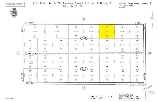36001 El Dorado, Lucerne Valley, CA 92356 (#DW21166691) :: Dannecker & Associates